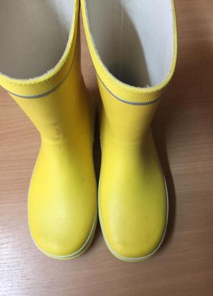 Резиновая обувь детская