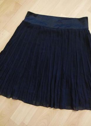 Плиссированная юбка h&m тренд сезона