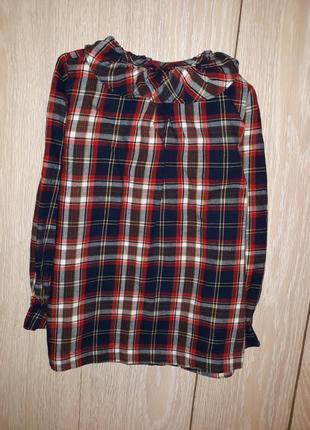 Рубашка zy girls на 6-7 лет