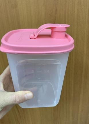 Контейнер для жидкости или сыпучих 1л tupperware