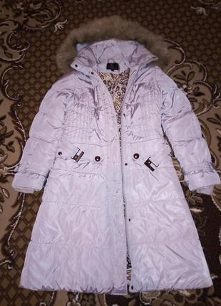 Куртка-пальто зимняя женская