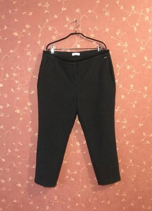🍂🤎🍂плотные брюки штаны деми m&s p. 16-18🍂🤎🍂