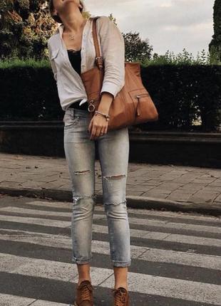 Терракотовая кожаная сумка nardelli шкіряна сумка теракотова