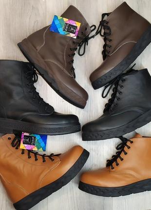 Кожаные ботинки, кожаные полусапожки от 36 до 41 размера  , разные модели