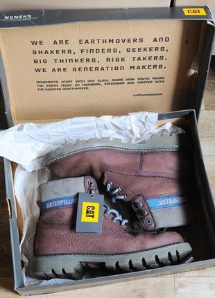 Супер стильные ботинки caterpillar! стильные, удобные и очень качественные! оригинал!