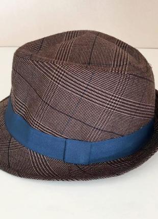 Новая мужская шляпа федора c&a, германия стильная