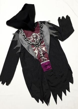 🎃 хеллоуин костюм торжественный фрак со шляпой на хэллоуин р s-м 46-50