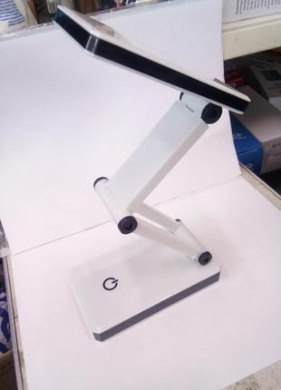 Настольная led лампа на батарейках + usb wd301