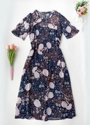 Легкое шифоновое платье marks&spencer