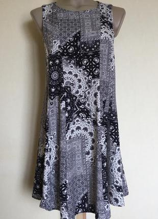 Доступно - стильное платье *zara basic* р. м
