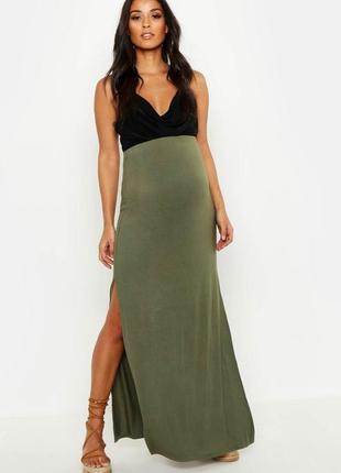 Макси юбка для беременных