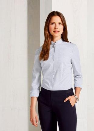 Женская хлопковая бизнес-блуза esmara евро 38