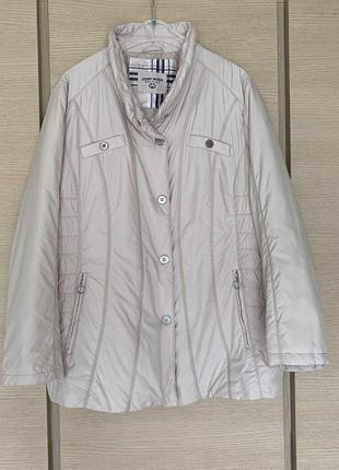 Куртка демисезонная премиум бренд германии gerry weber размер 48