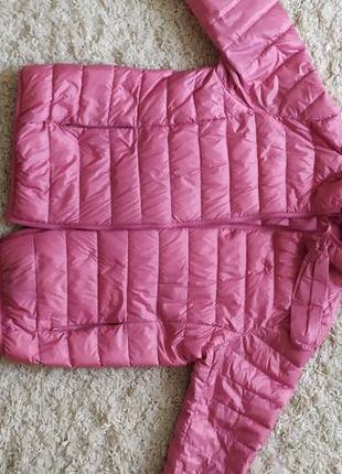 Теплая легкая курточка на лебяжьем пуху!