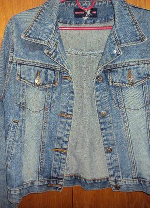 Курточка джинсова 46-48
