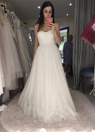 Свадебное платье boho