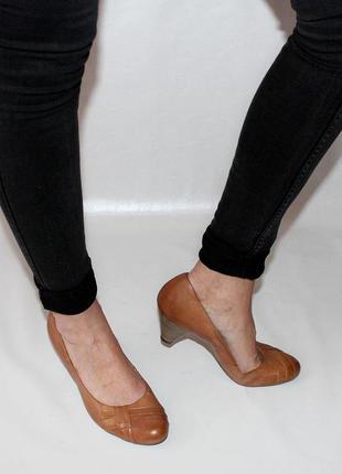 Туфли 41 р pesaro италия кожа оригинал