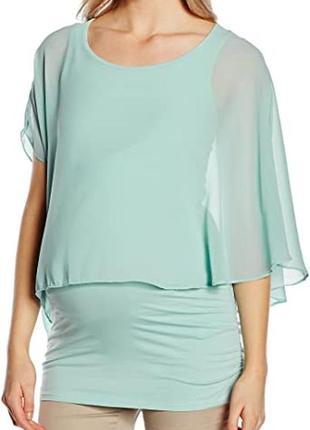 Красивая, новая женская удлиненная кофта, туника для беременных mama licious