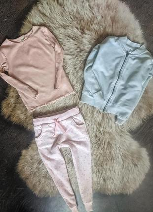 Костюм набір реглан штани