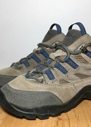Треккинговые кроссовки ботинки salomon x hiking женские бежевые 37