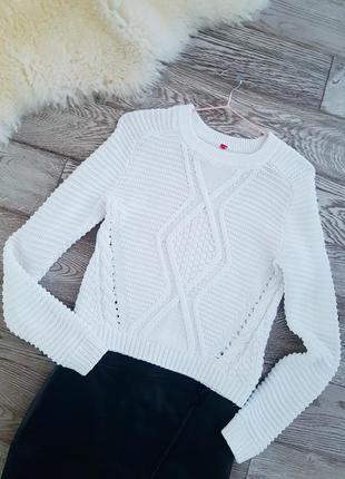Котоновый свитер от h&m