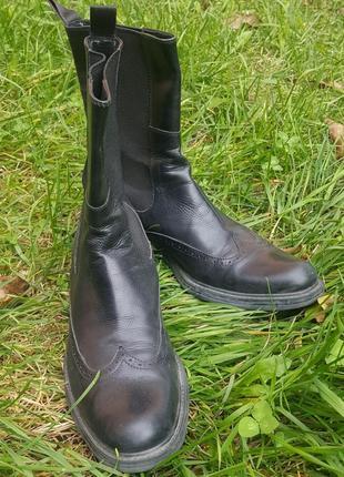 Челси ботинки, полусапоги италия броги оксфорды