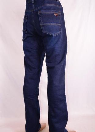 Теплые джинсы на флисе есть размеры