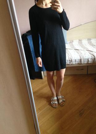 Платье-кофта хлопковое