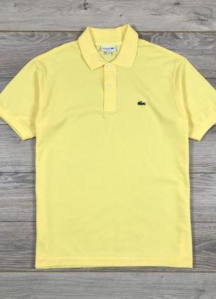 Поло футболка lacoste classic fit котон хлопок бавовна