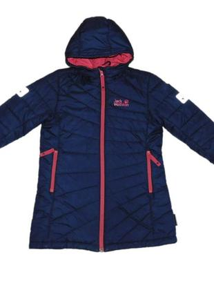 Пальто jack wolfskin iceguard microguard coat, р.122 см