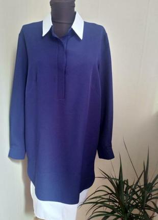 Платье-рубашка, подойдёт и для беременных