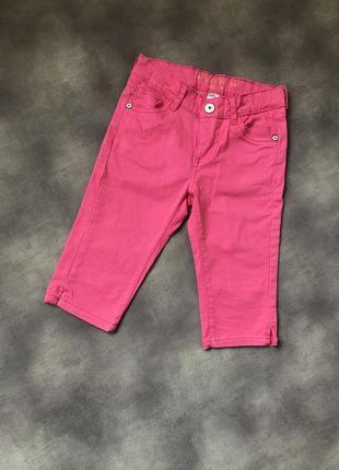 Яркие джинсовые шорты