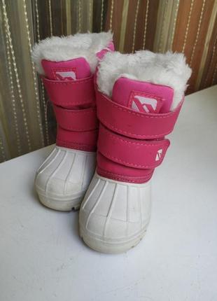 Зимние ботиночки на девочку campri как columbia