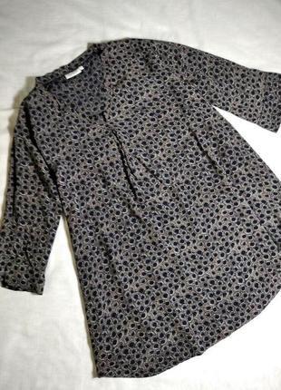 Скидка 1 дня. вискозная блузка туника платье индия masai