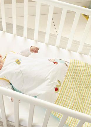 Детский спальный мешок buzzy bee grobag the gro company - 0-6 месяцев, 1.0 tog унисекс