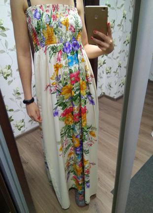 Платье, платье в пол, сарафан, новое, с биркой atmosphere