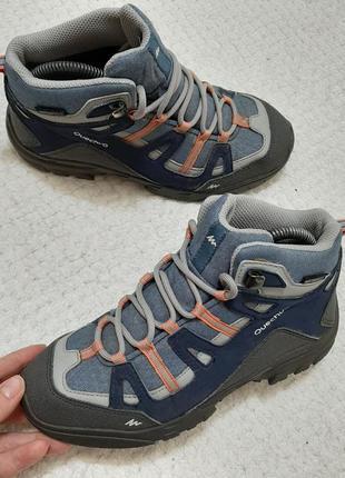 Демесезонные /зимние ботинки quechua essensole р. 33-34 (22 см) франция