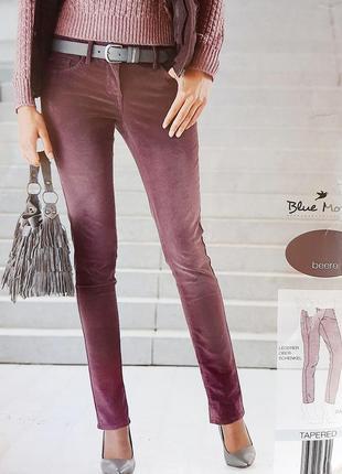 Blue motion, женские вельветовые брюки