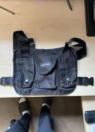 Сумка нагрудная бронижилет/chestbag hgul+bag (techwear)