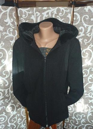 Пальто куртка натуральная шерсть