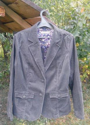 Пиджак marks&spencer (вельвет)