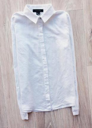 Базовая белая рубашка бойфренд atm atmosphere