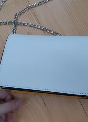 Сумка через плечо, белая сумка, оригинальная сумка