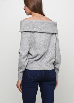 Шикарный свитер на плечи от h&m