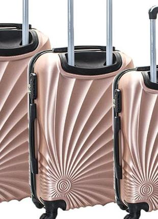 Набор из 3-х чемоданов