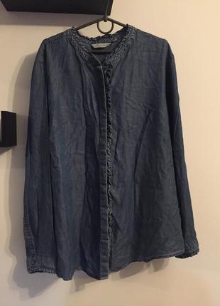 Джинсова блуза