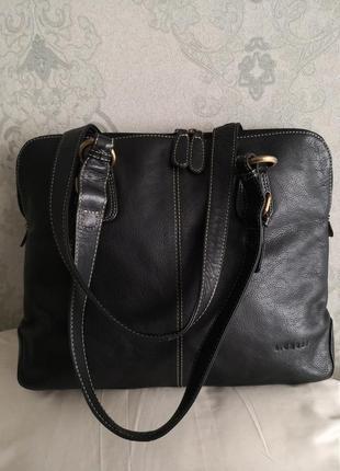 Большая кожаная сумка l. credi 👜👜👜💥🔥