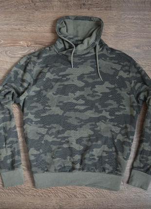 Оригинальное стильное худи  свежие коллекции  c-and-a ® mens camouflage hoodie
