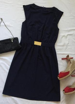 Шифоновое платье zara