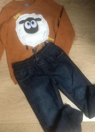Теплий комплект! джинси на флісі!